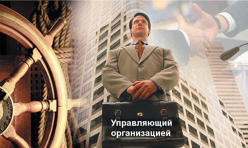 Управляющий организацией: права и обязанности
